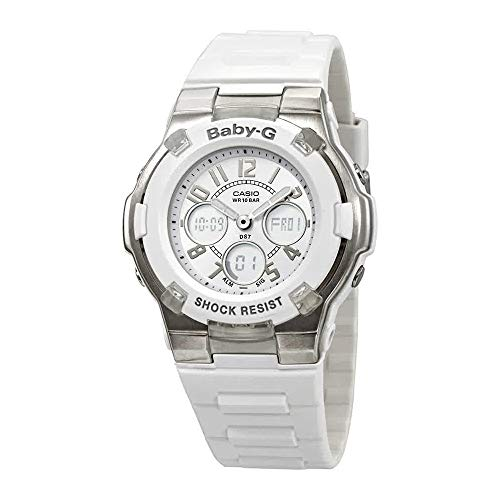 (Casio Women's BGA110-7B Baby-G Shock-Resistant White Sport Watch)