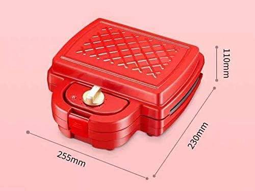 Machine alimentaire des ménages lumière, température automatique constante, gaufrier multi-fonctions, pain grillé presse