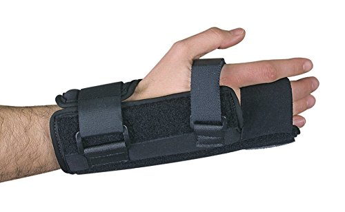 FREEDOM comfort Wrist Splint with MP Block, Right, Small/Medium by Freedom