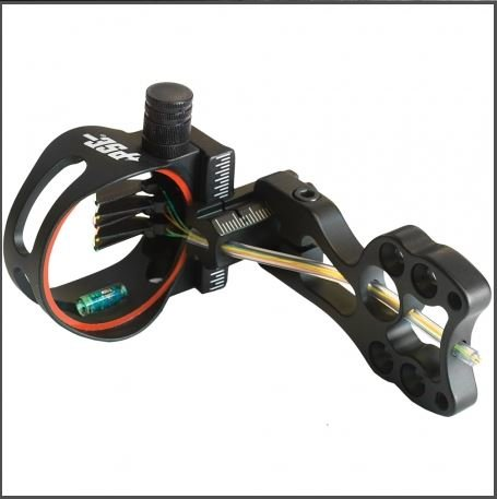 (PSE AMP 2G Bow Sight, Black, #42217BK)
