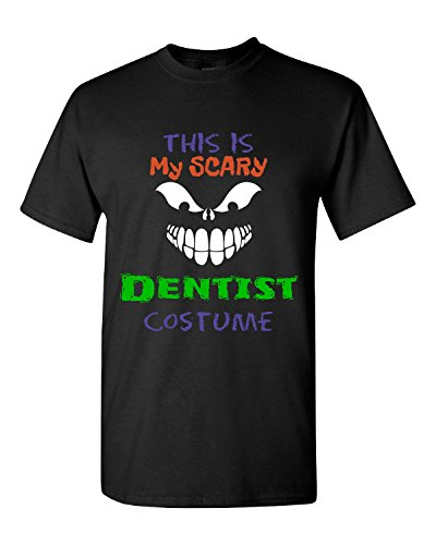 [This Is My Scary Dentist Halloween Costume - Adult Shirt 3xl Black] (Scary Dentist Costume)