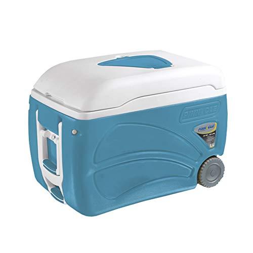 Pinnacle Nevera portatil 45 litros con ruedas, Azul: Amazon.es: Jardín
