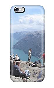 HKISaep414nMZWL Fjords And The Preikestolen Cliff View Fashion Tpu 6 4.7 Case Cover For Iphone