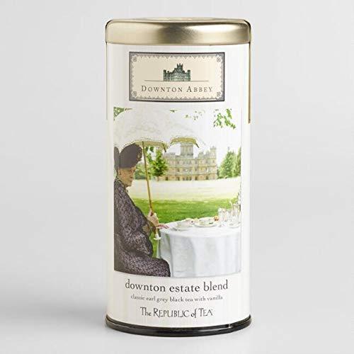 The Republic of Tea Downton Abbey Estate Blend Tea Tin -
