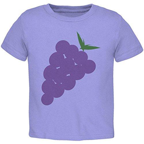 [Halloween Purple Grape Costume Toddler T Shirt Periwinkle 4T] (Periwinkle Costume Toddler)