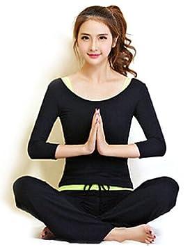 Yoga - ropa WAZZ/trajes pantalones de Yoga + conjuntos Yoga ...