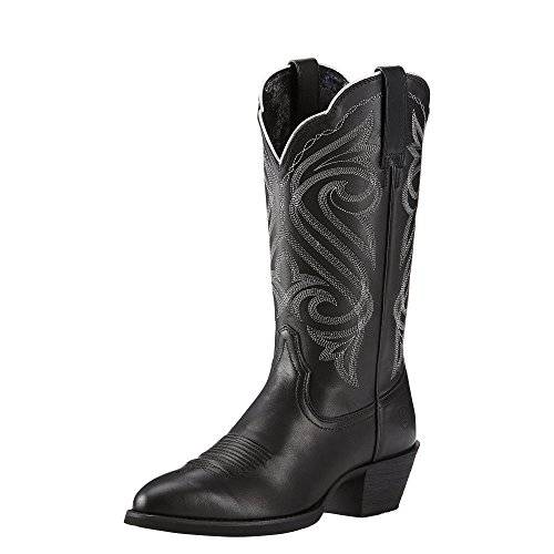 Ariat Women's Round Up R Toe Western Cowboy Boot - stylishcombatboots.com
