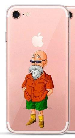 Coque silicone souple Iphone 5 / 5s / SE DBZ Tortue Géniale (livraison gratuite en France)