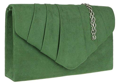 Girly Handbags - Cartera de mano Mujer verde oscuro