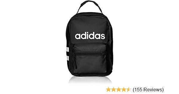 Amazon.com  adidas Santiago Lunch Bag, Black White, One Size  Sports    Outdoors 4066dcc678