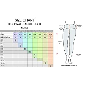 90 Degree By Reflex Squat Proof Super High Waist Odor Control Ankle Length Leggings