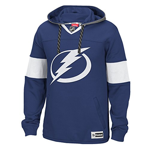 NHL Carolina Hurricanes Men's Face Off Jersey Pullover Hoodie, Large, Red
