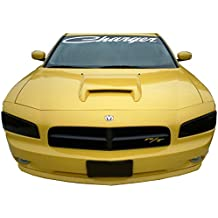 Decal Sticker Compatible with Dodge Charger Script Front Windshield Banner Decal