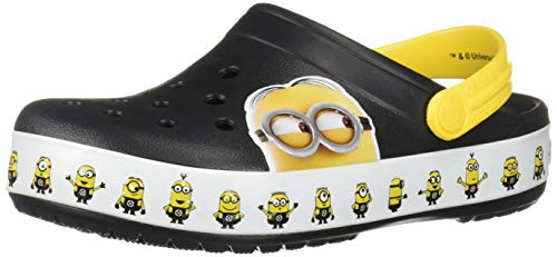 Crocs Crocband Minions Clog, Multi 7 US Men/ 9 US Women M US -