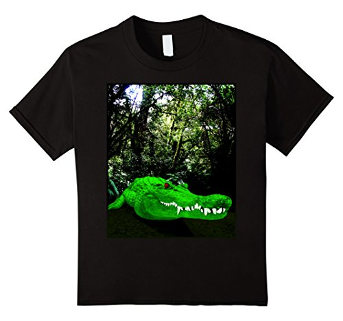 unisex-child Alligator T-Shirt Animal Jungle Crocodile Tees for Men Women 10 (Alligator Youth T-shirt)