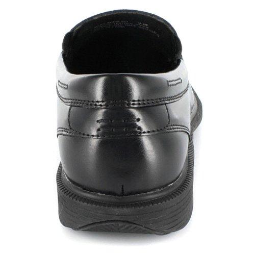 Nunn Bush Mens Fyr St Slip-on Svart Läder