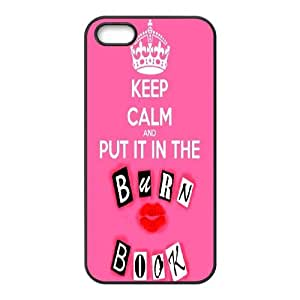 Hiqu quality the burn book series case cover For Apple Iphone 5 5S Cases LHSB9574708790