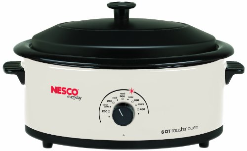 (Nesco 4816-14 EMW6095152, 6 Qt, White)