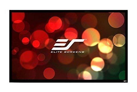 e 2 Rear Series, 120-INCH Diagonal 16:9, Fixed Frame Home Movie Theater REAR Projector Projection Screen 8K / 4K Ultra HD 3D Ready, R120RH2 ()