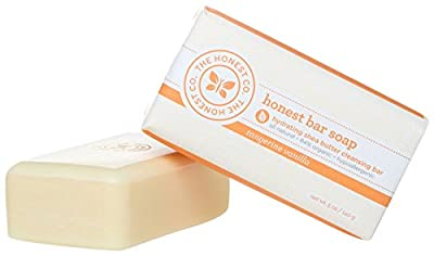 The Honest Company Shea Butter Cleansing Bar - Tangerine Vanilla - 5 oz