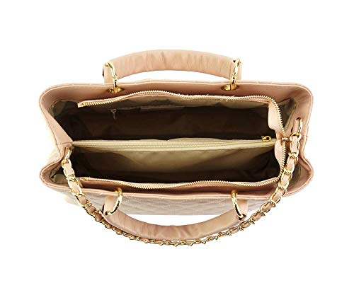 Market 7006 Leather De Sac En Vache Main Porté Rose Cuir Severa Florence v51xUqdfq