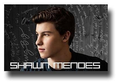 Poster Shawn Mendes Illuminate Handwritten Promo 11 x 17 Wide1