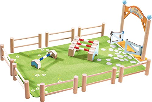 HABA Little Friends Horse Jumping Tournament Playset Arena with