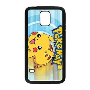 Samsung Galaxy S5 Cell Phone Case Black_Super Smash Bros Pikachu_007 Tvvwu