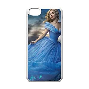 iphone5c phone cases White Cinderella cell phone cases Beautiful gifts PYSY9379816