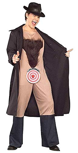 (Forum-Novelties Men's Hilarious Flasher Theme Party Outfit Halloween Costume, STD (Up to)