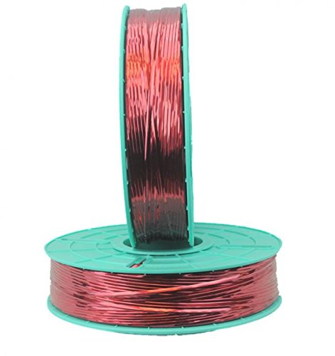 4,000 ft. Decorative Red Twist Tie Ribbons (10 Spools) - 20-4000-Red by Miller Supply Inc