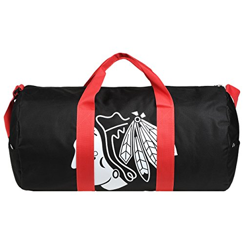 Bag Blackhawks Chicago - Chicago Blackhawks Vessel Barrel Duffle Bag