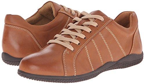 Veg Softwalk Leather Women's Tumbled Fashion Sneaker Hickory Luggage X6pXHq