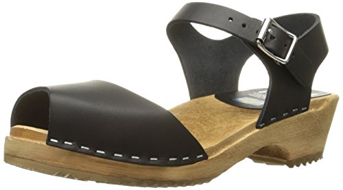 MIA Women's Anja Mule, Black, 8 M US