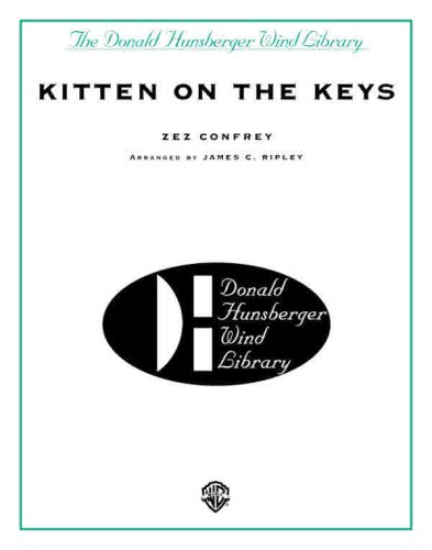 Kitten on the Keys (Donald Hunsberger Wind Library) by Schaum Pubns