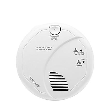 AngelEye – SCO5-AE-FRR Detector combinado de humo y de monóxido de carbono