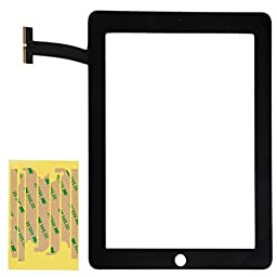 Front Glass Panel Digitizer Touch Screen for Apple iPad First Generation Model A1219 A1337 (No Bezel Frame)