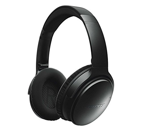 Bose QuietComfort 35 (Series I) Wireless Headphones, Noise Cancelling - Black