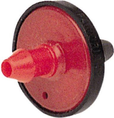 - Raindrip Pressure Compensating Mini in-Line Dripper 1/2 GPH 1/4