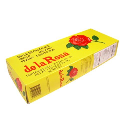 Dulces De La Rosa (De la Rosa, Peanuts Confection, 30 oz. Box (Pack of 4))