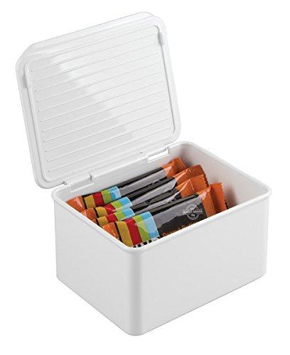 mDesign Kitchen Cabinet Pantry Storage
