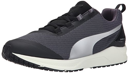 PUMA Women's Ignite XT Women's Running Shoe, Black/Periscope, 8 B US