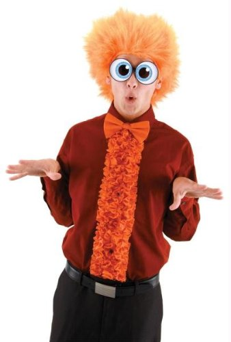 elope Insta Tux, Orange, One Size (Dumb And Dumber Orange Tux)