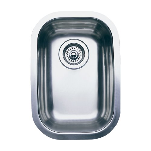 (Blanco 511-958 Wave Plus Single Bowl Undermount Kitchen Sink, Satin Polished Finish)