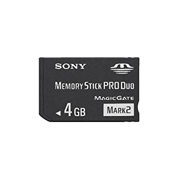 Amazon.com: 4 GB Sony Pro Duo (Mark 2) Memory Stick para PSP ...