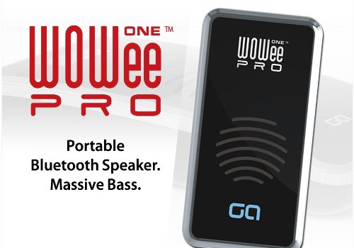 WOWee ONE Pro - Mini Bluetooth Portable Speaker