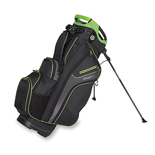 Bag Boy Chiller Hybrid Stand Bag Black/Charcoal/Lime Chiller Hybrid Stand (Chiller Bag)