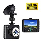 Dash Cam Mini Car Camera Bnoia 1080P HD 2.7