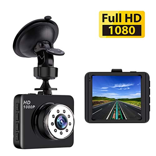 Dash Cam Mini Car Camera Bnoia 1080P HD 2.7″ Screen Dashboard DVR Vehicle Recorder,Night Vision, 120° Wide Angle, G-Sensor, Loop Recording Review