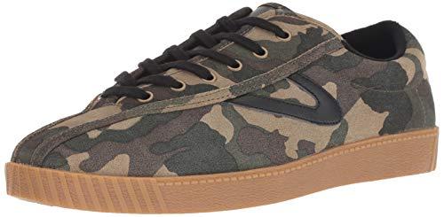 Tretorn Men's Nylite26Plus Sneaker, Dark Green, 9.5 M US
